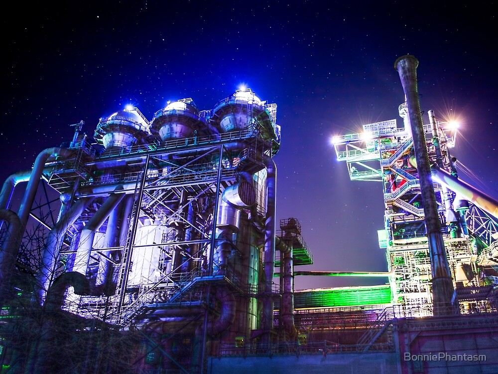 Industrial HDR photography - Steel Plant 2 by BonniePhantasm