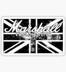 Marshall Amp UK Sticker