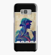 Sherlock Holmes vintage art nouveau style poster Samsung Galaxy Case/Skin
