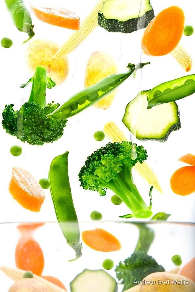 Healthy Vegetables by Andrew Bret Wallis