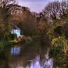 Autumn Afternoon On The Kennet by IanWL