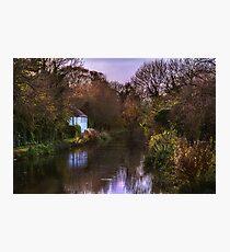 Autumn Afternoon On The Kennet Photographic Print
