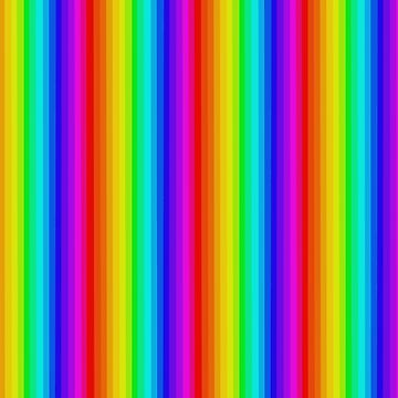 Vertical Rainbow. by TeddyPleb