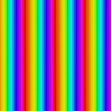 Vertical Rainbow. by TeddyPleb