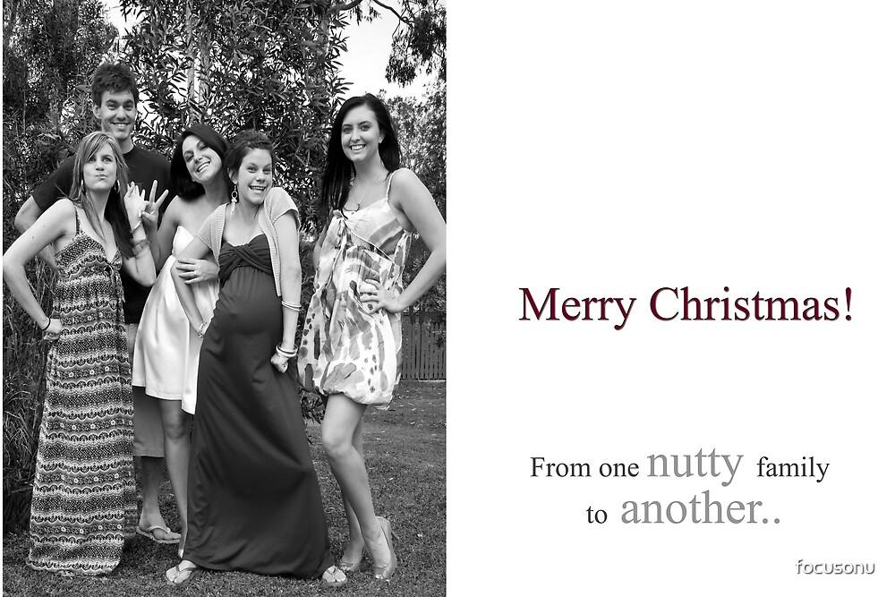 Christmas nutty family by focusonu