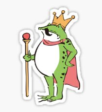 Frog Master - Emperor's New Clothes Sticker