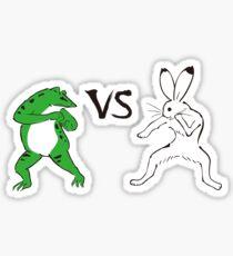 Frog Master - Frog vs Hare Sticker