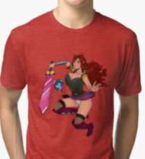 Lusty Attack - Full colour Tri-blend T-Shirt
