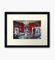 Inside Downton Abbey - Basildon Park - Grantham House Framed Print