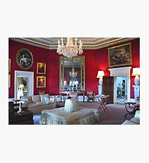 Inside Downton Abbey - Basildon Park - Grantham House Photographic Print