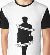 Tell The World I'm Coming Home - full black Graphic T-Shirt