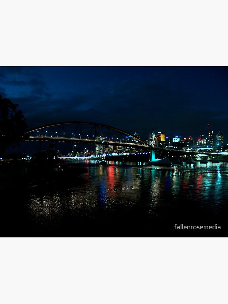 South Bank Lights by fallenrosemedia
