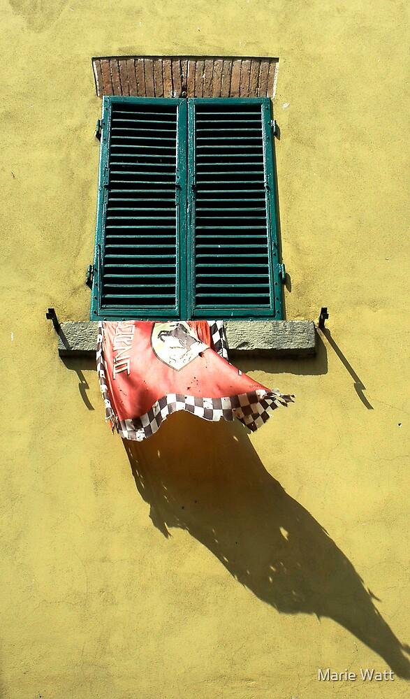 Italian Window by Marie Watt