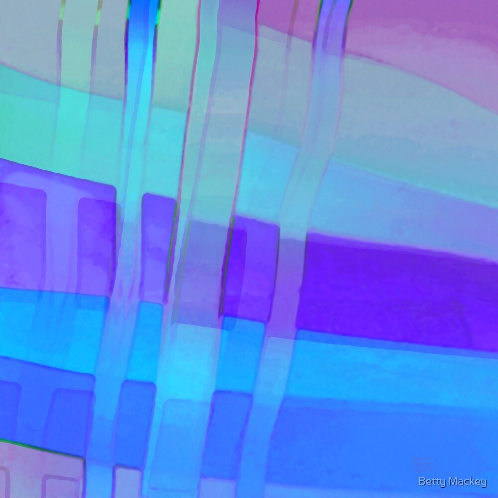 Ribbon Blues by Betty Mackey