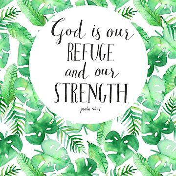 Psalm 46:1 by Tangerine-Tane