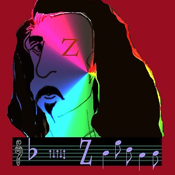 frank zappa by boographics