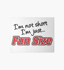 I'm Not Short I'm Just Fun Size Art Board
