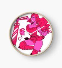 Lusty Attack - Multicolour Clock