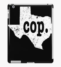 Police Chief Shirt Texas Cop Shirt Chief Of Police Shirt iPad Case/Skin