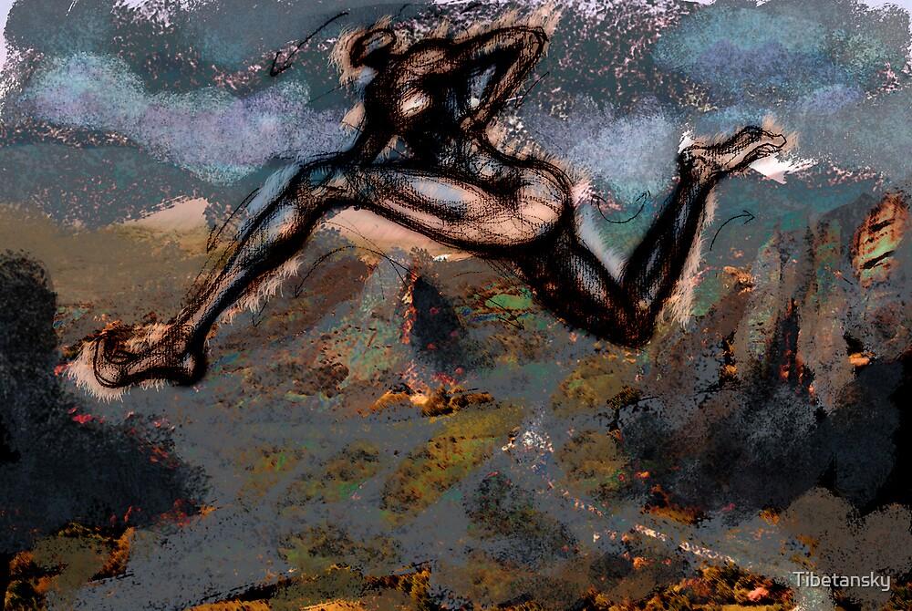 The runner by Tibetansky