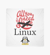 Geek Nerd - All you need is linux love Scarf