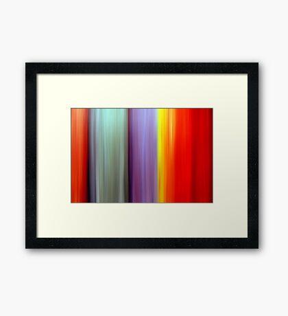 Color Spectrum Framed Print