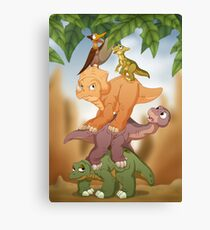 Land Before Time Canvas Print