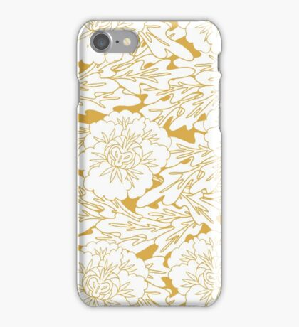 Panzy Royal Gold iPhone Case/Skin