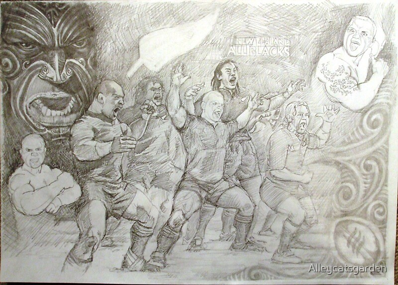 Haka comission by Alleycatsgarden