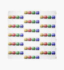 little cars - cartoon cars - colorful cars - little cars Scarf