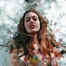 «Retrato en reposo II» de Ivana Besevic