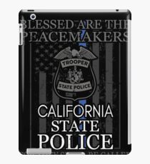 California Highway Patrol Shirt California State Police iPad Case/Skin