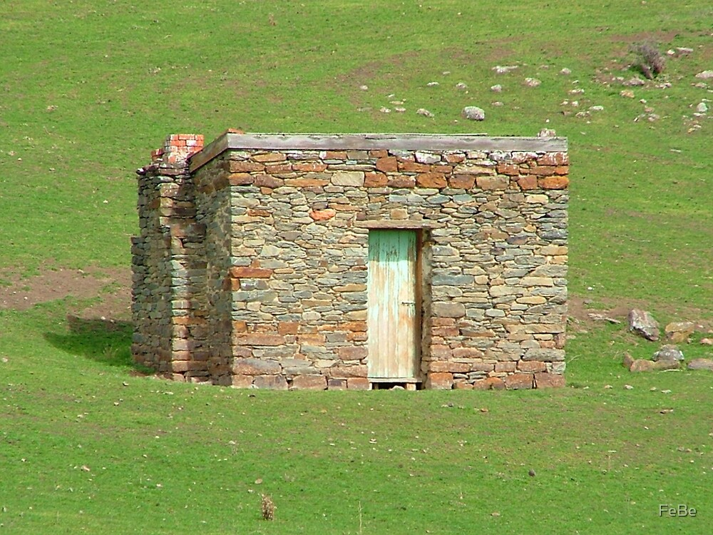 Old Stone Shed by FeBe