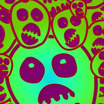 The Mighty Boosh - Mask Jadeen by eyevoodoo