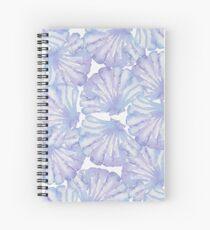 Shell Ya Later - Purple Seashells Spiral Notebook