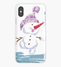 Merry Snowmen iPhone Case/Skin