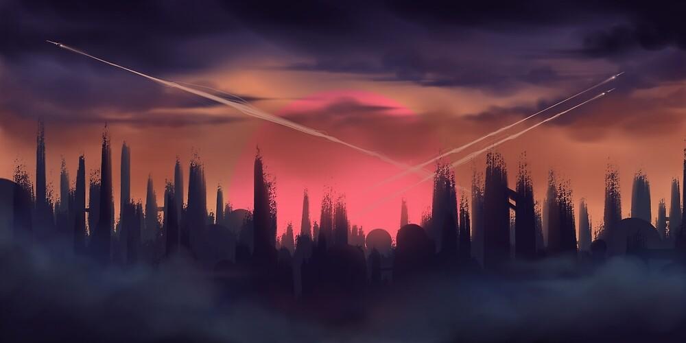 Skylines by architeuthidae