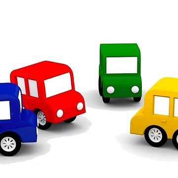 little cars - cartoon cars - colorful cars - little cars by JulianoRocha