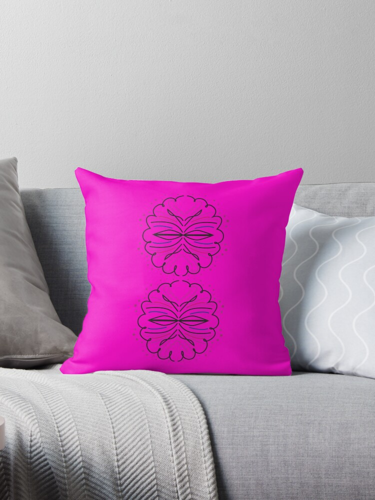 Design elements pink Mandala  by Bee and Glow Illustrations Shop