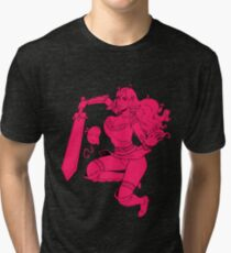 Lusty Attack - One colour Tri-blend T-Shirt