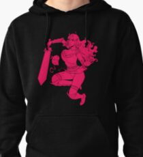 Lusty Attack - One colour Pullover Hoodie