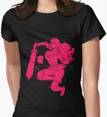 Lusty Attack - One colour Women's Fitted T-Shirt