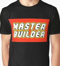 MASTER BUILDER Graphic T-Shirt