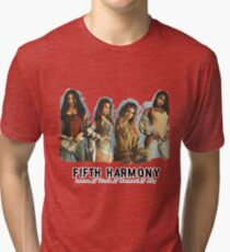 Fifth Harmony - Lauren / Dinah / Normani / Ally (Group) Tri-blend T-Shirt