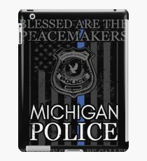 Michigan Police Support Detroit Police Shirt Police Officer Gift iPad Case/Skin
