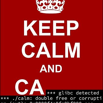 Keep calm and... SegFault! by Ange4771