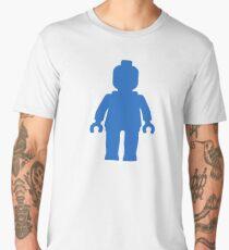 Minifig [Blue] Men's Premium T-Shirt