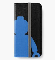 Minifig [Blue] iPhone Wallet/Case/Skin