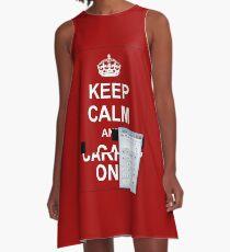 Keep calm and.. Calc! A-Line Dress