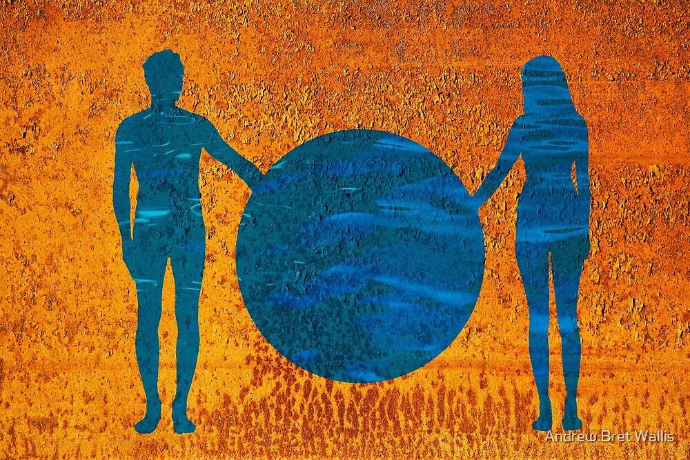Adam & Eve by Andrew Bret Wallis